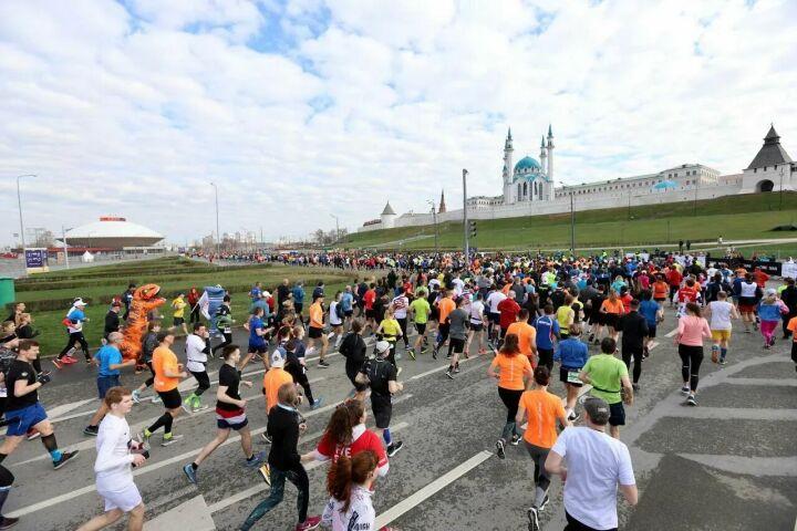 Казанский марафон собрал 14 тыс. участников из 29 стран