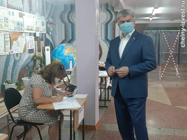 Магдеев на праймериз «Единой России»: Выбор я сделал и считаю, это очень важно