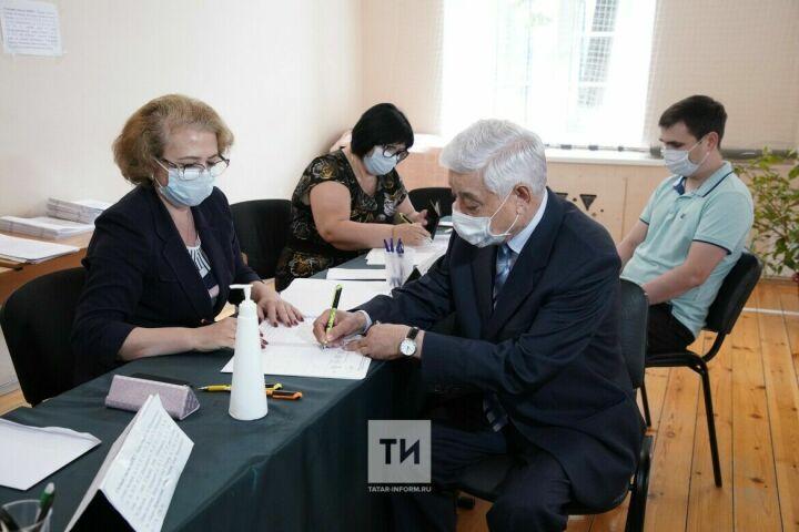 Фарид Мухаметшин проголосовал на праймериз «Единой России»