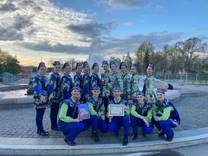 Танец «Без булдырабыз» принес победу зеленодольцам на международном конкурсе в Москве