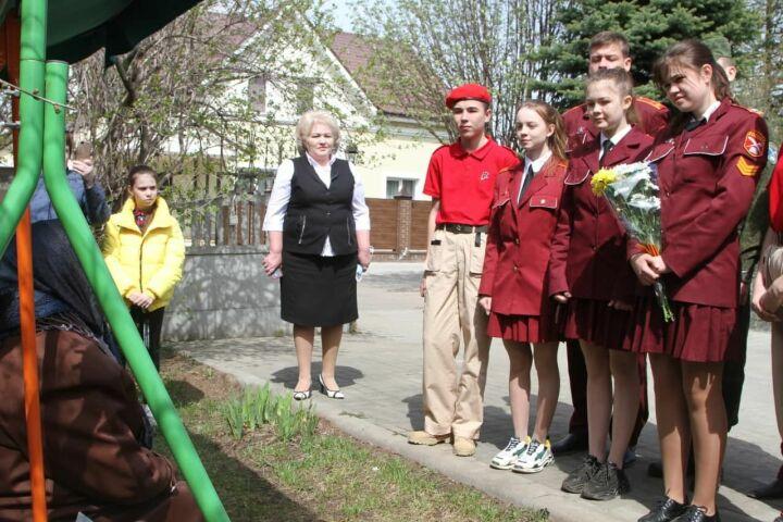 В Лаишевском районе РТ впервые начали устанавливать таблички на домах тружеников тыла