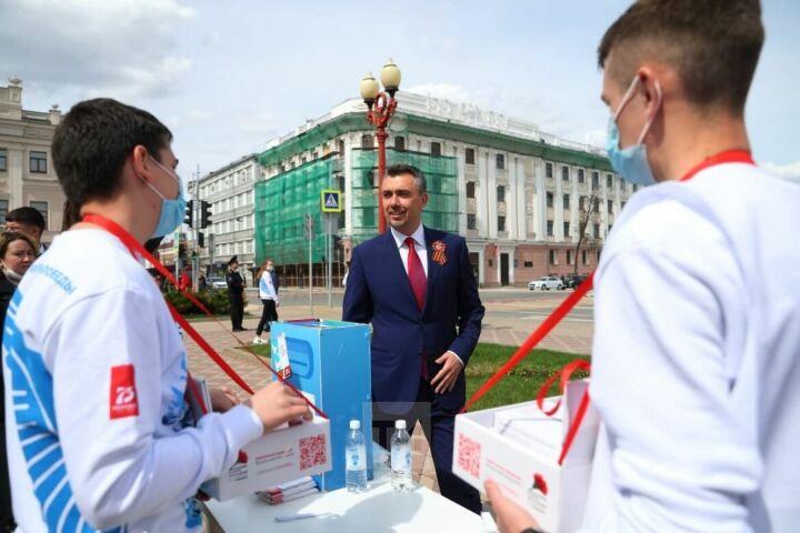 Дамир Фаттахов присоединился к всероссийской акции «Красная гвоздика»