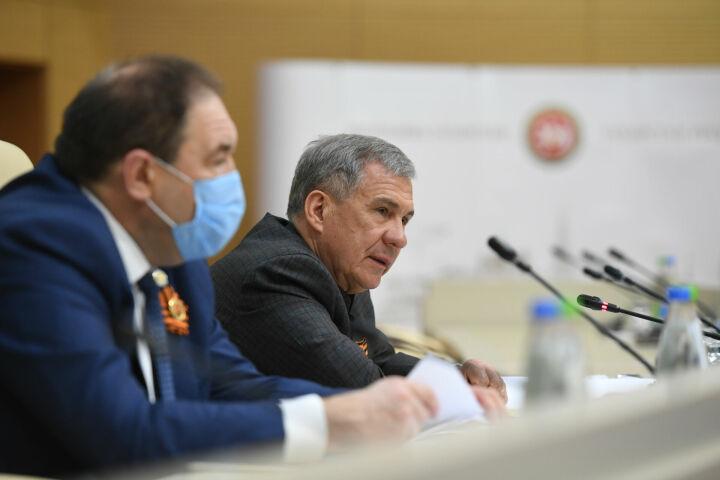 Минниханов: Празднование Дня Победы в Татарстане должно пройти на самом высоком уровне