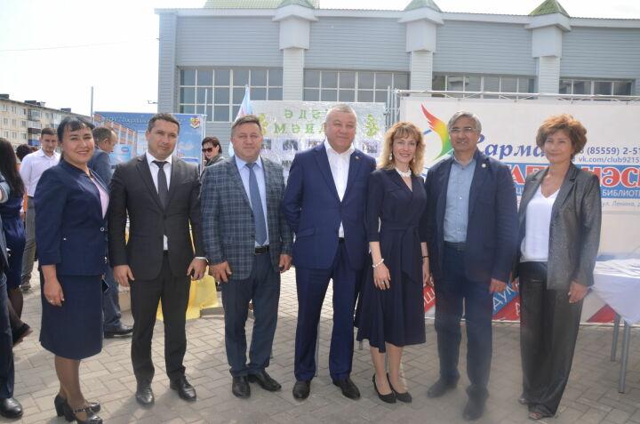 Шайхразиев — жителям Сармановского района: «Мы сильны только тогда, когда едины и вместе»