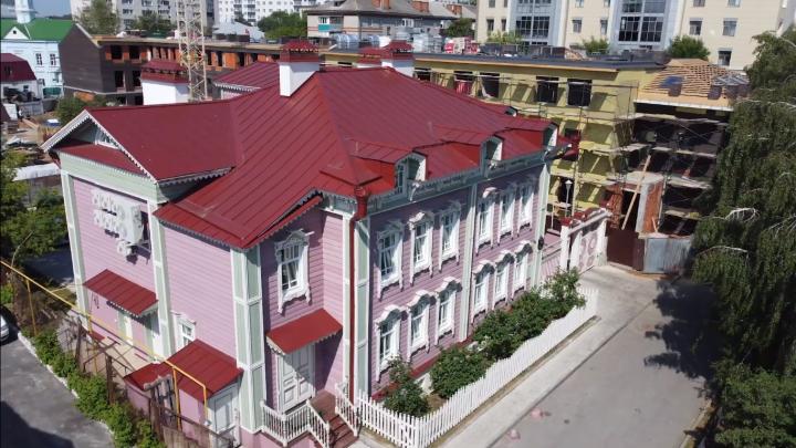 Цвета казанского заката: на канале «Новая Тартария» вышел сюжет о доме Сафы Бахтеева