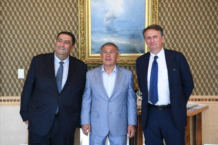 Президент РТ обсудил с руководством Pernod Ricard дальнейшее сотрудничество