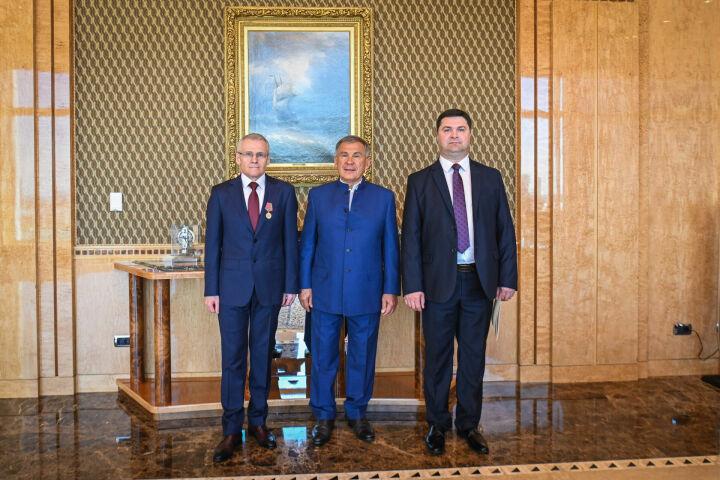 Минниханов встретился с новым руководителем казанского отделения посольства Беларуси