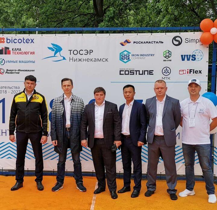 Шесть резидентов ТОСЭР «Нижнекамск» представили свою продукцию на Сабантуе