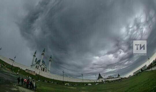 В Татарстане объявлено штормовое предупреждение из-за дождей, грозы и сильного ветра