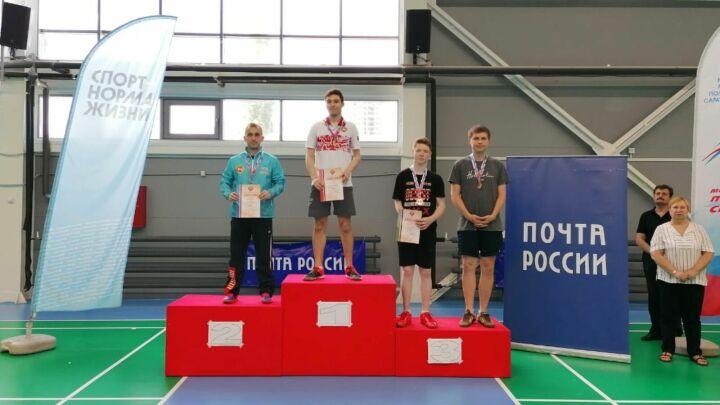 Павел Куликов из Татарстана стал абсолютным победителем чемпионата РФ по парабадминтону
