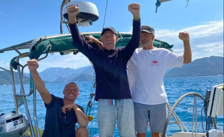 Татарстанские мореплаватели завершили кругосветное путешествие на яхте «Милонга»