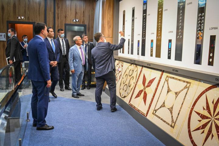 Рустам Минниханов посетил TEXNOPARK в Ташкенте