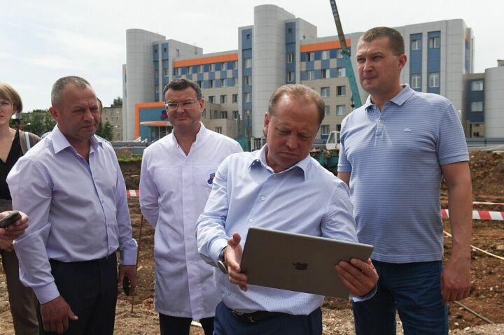 Центр экстренной медицины в Нижнекамске планируют построить к концу 2022 года
