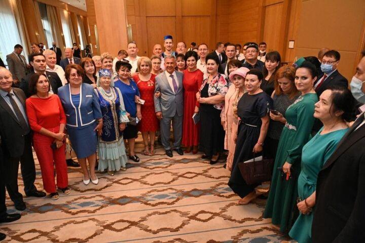 Минниханов встретился с представителями татарской диаспоры Узбекистана