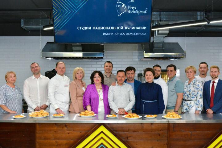 Казанский инновационный университет открыл студию национальной кухни