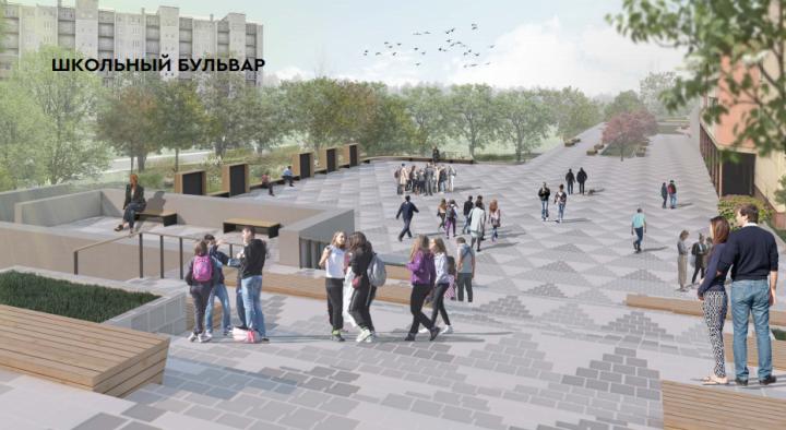 В Камских Полянах появится своя улица Баумана с амфитеатром и игровыми зонами