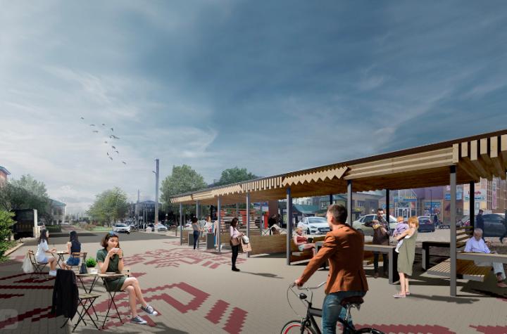 Улица Карла Маркса в Агрызе станет «красной дорожкой» для жителей и гостей города