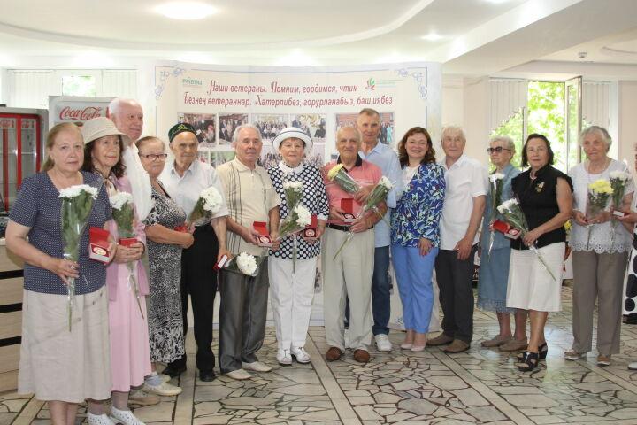 В Казани ветеранов здравоохранения поздравили с Днем медицинского работника