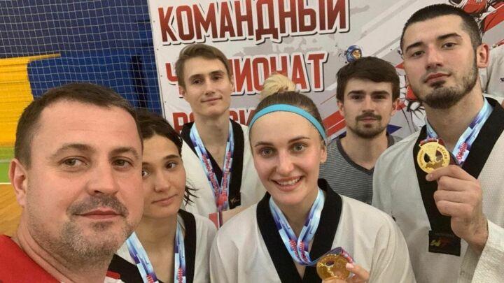 Сборная Татарстана выиграла командный чемпионат России по тхэквондо