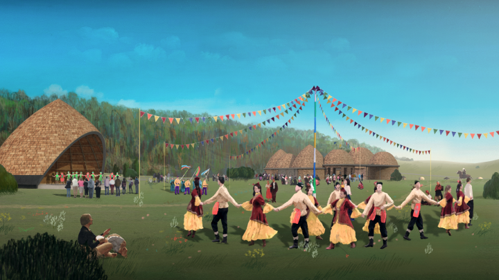 Проект «Алтын Дага» в случае победы соединит село Билярск, «Святой Ключ» и форум «Cәләт»