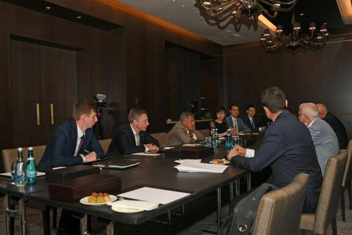 Минниханов встретился с председателем правления группы компаний Tiryakiler