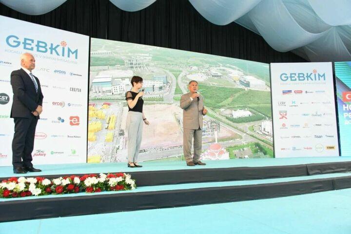 Минниханов ознакомился с работой предприятий в турецкой промзоне «Гебким»