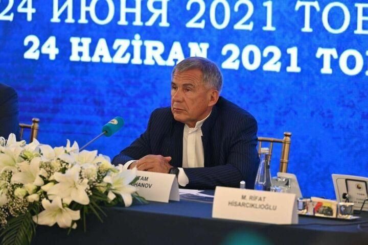 Минниханов пообещал всестороннюю поддержку работающим в Татарстане турецким компаниям