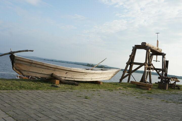 В Татарстане на фестивале «Народная лодка» спустят на воду косный струг