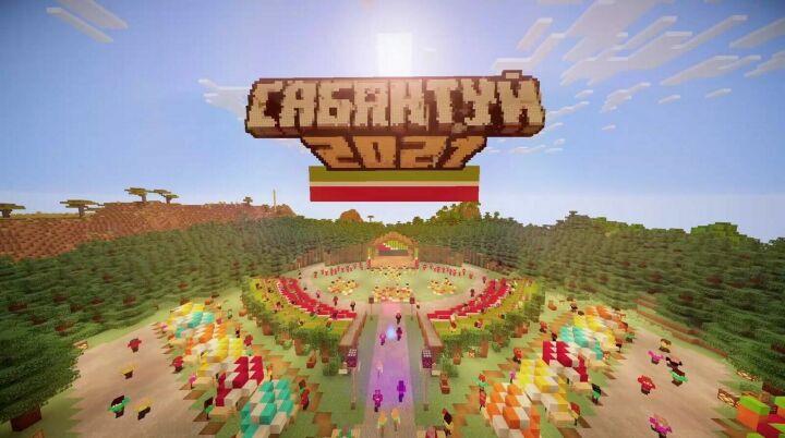 Первый в истории Сабантуй в Minecraft посмотрели более 50 тыс. игроков