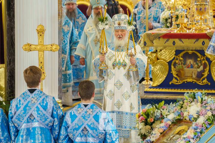 Патриарх Кирилл: Воссозданный собор в Казани – памятник силы и духа нашего народа