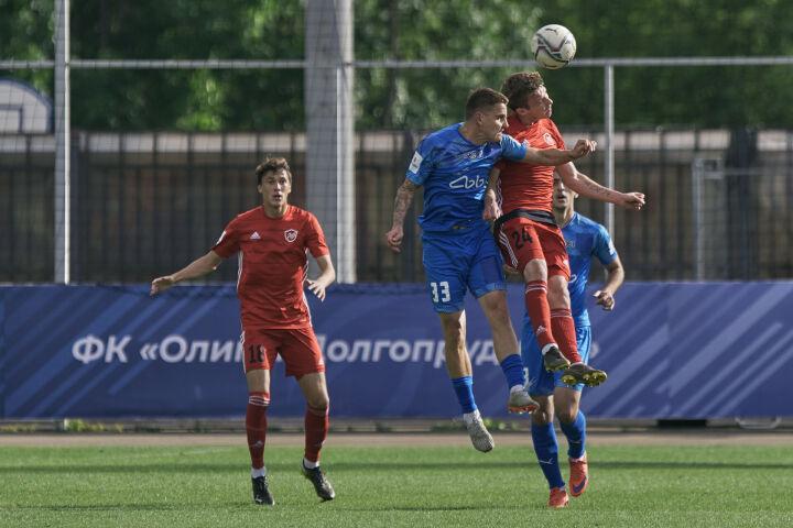 «КАМАЗ» в гостях сыграл вничью с ФК «Олимп-Долгорудный» и поднялся на 3-е место в ФНЛ