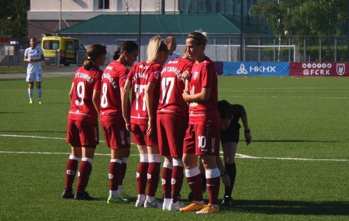Женский «Рубин» проиграл «Чертаново» и выбыл из розыгрыша Кубка России по футболу