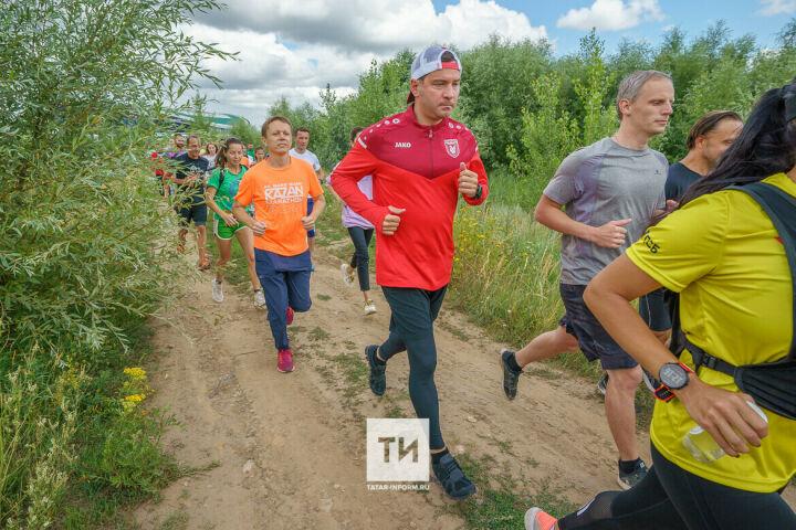 Министр спорта РТ провел беговую экскурсию и рассказал о проекте Спортивного парка Казани