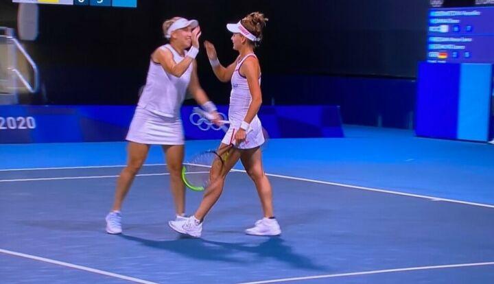 Вероника Кудерметова выиграла свой первый в карьере теннисный матч на Олимпиаде
