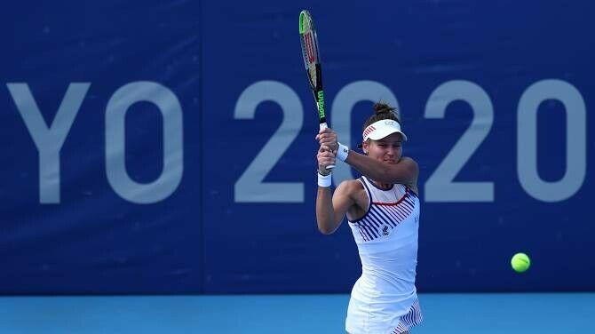 Кудерметова проиграла Мугурусе и выбыла из одиночного турнира на Олимпиаде в Токио