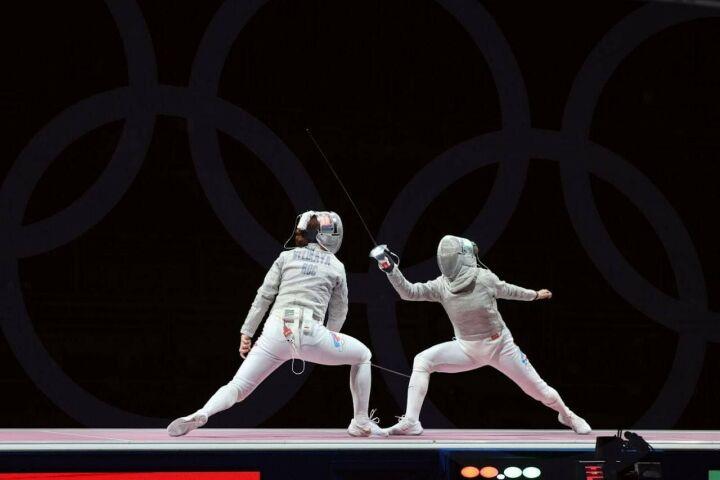Российская саблистка София Позднякова завоевала золото на Олимпиаде