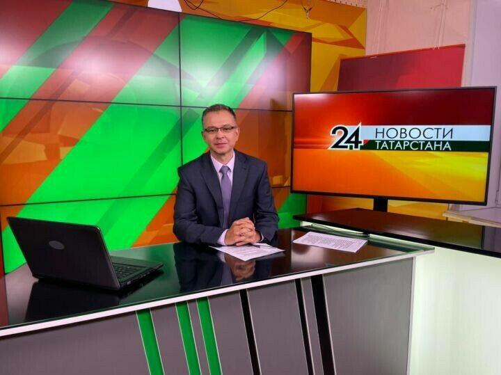 На канал «Татарстан 24» пришел телеведущий, отработавший 27 лет на башкирском телевидении