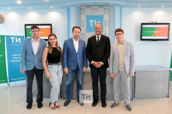 ИА «Татар-информ» посетил представитель крупнейшего информагентства Турции «Анадолу»