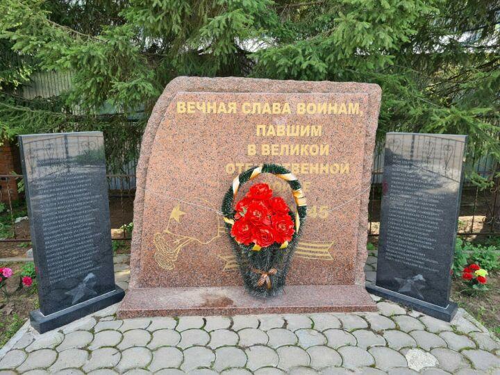 В казанском поселке Борисоглебское восстановлен памятник воинам
