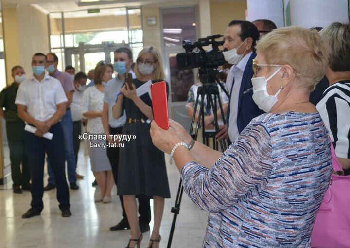 В Бавлы приехала передвижная выставка Национального музея РТ о столетии ТАССР