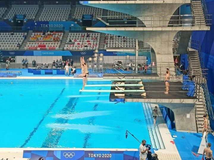 Казанец Шлейхер сорвал прыжок в турнире прыгунов в воду и остался без олимпийской медали