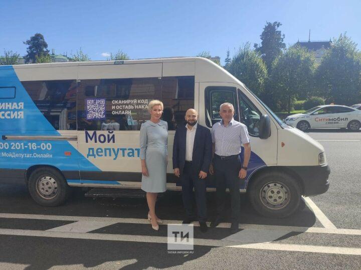 Посетят каждый район: в РТ заработали мобильные общественные приемные «Единой России»