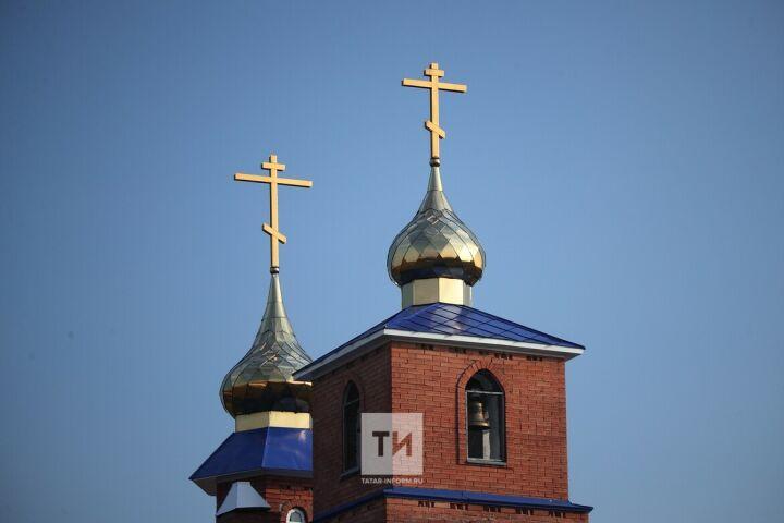 В День Крещения Руси во всех храмах Татарстана звонили в колокола