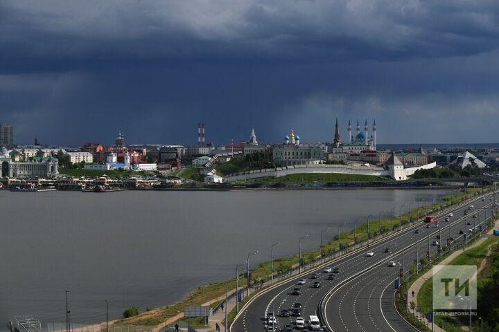 Циклон вновь принесет в Татарстан дожди и грозы