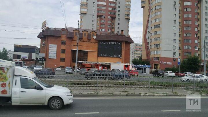 Из-за дыма в здание ТЦ  «Имера» в Казани вызывали пожарных