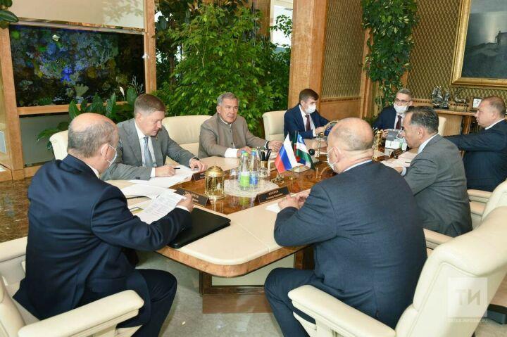 Минниханов обсудил с делегацией Узбекистана совместные проекты в области АПК