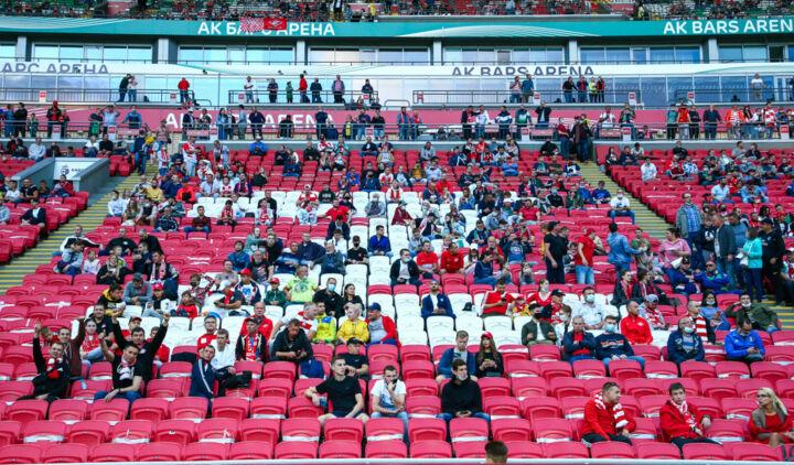 «Рубин» хочет провести ближайшие домашние матчи с загрузкой арены до 30% от вместимости