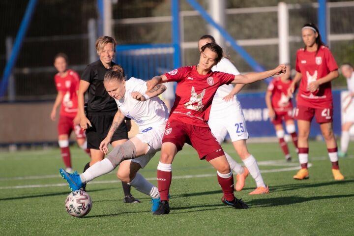 Женский «Рубин» потерпел 15-е поражение в чемпионате России