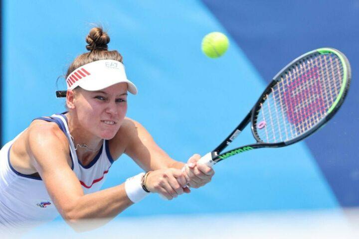 Уроженка Казани Вероника Кудерметова проиграла матч за бронзу на Олимпиаде в Токио