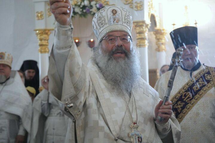 Митрополит Кирилл освятил отреставрированный храм Николая Чудотворца в Свияжске